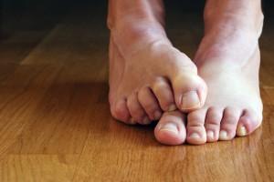 pieds malodorants